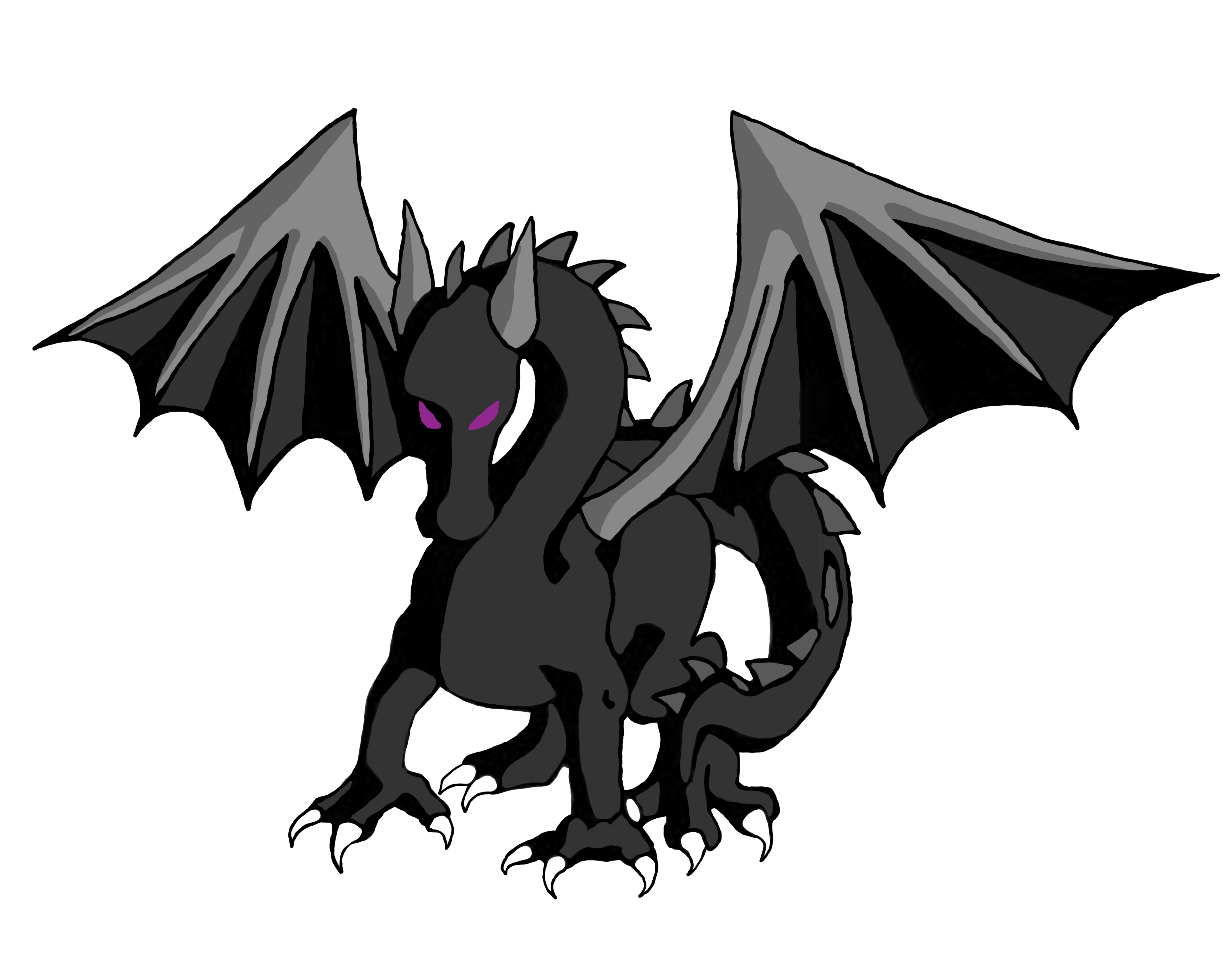 ender dragon drawing how to draw ender dragon step by step video game ender drawing dragon