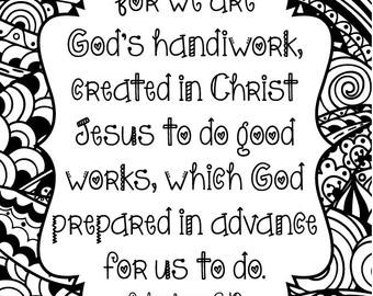 ephesians 2 8 coloring page coloring pages for kids by mr adron free printable page coloring ephesians 2 8