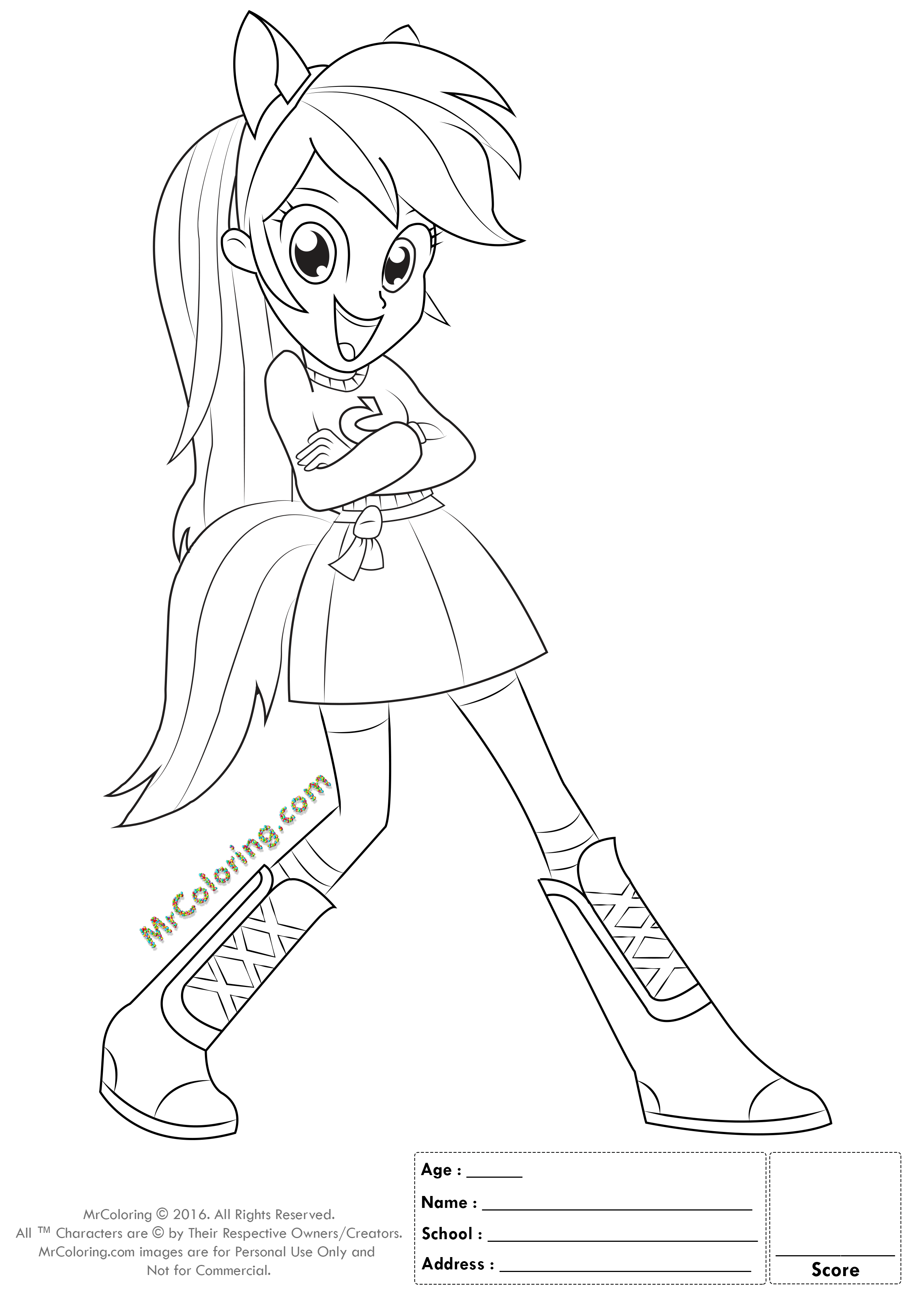 equestria girls mlp coloring page free equestria girls my little pony coloring pages equestria mlp page girls coloring