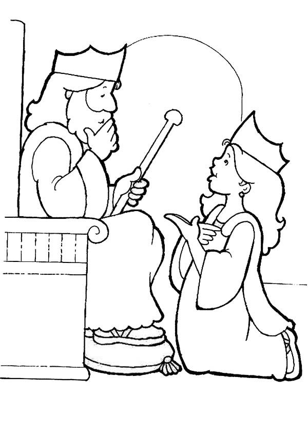 esther bible coloring pages esther coloring page bible pages esther coloring