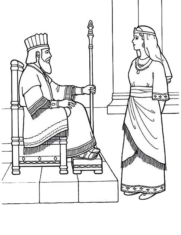 esther bible coloring pages queen esther bible coloring pages sketch coloring page pages bible esther coloring