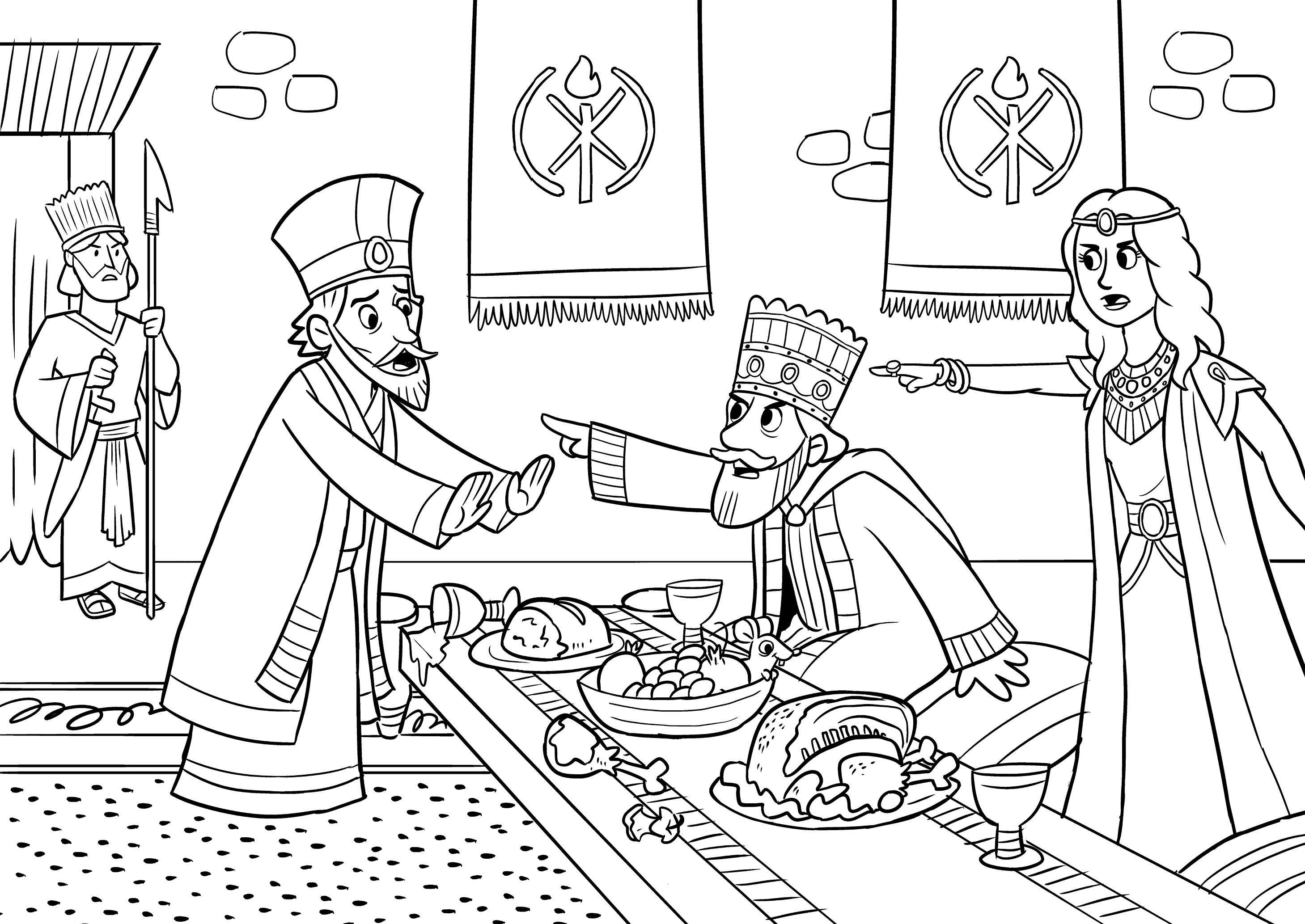 esther bible coloring pages queen esther coloring pages at getcoloringscom free pages esther coloring bible
