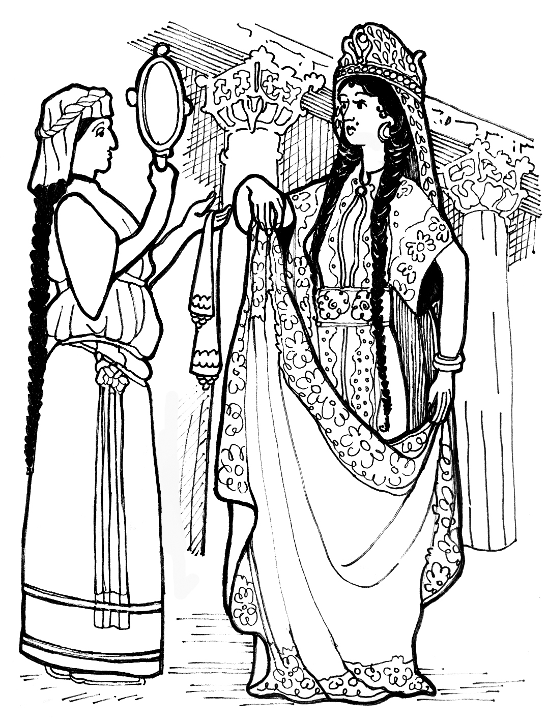 esther bible coloring pages story of esther for children coloring home esther bible pages coloring
