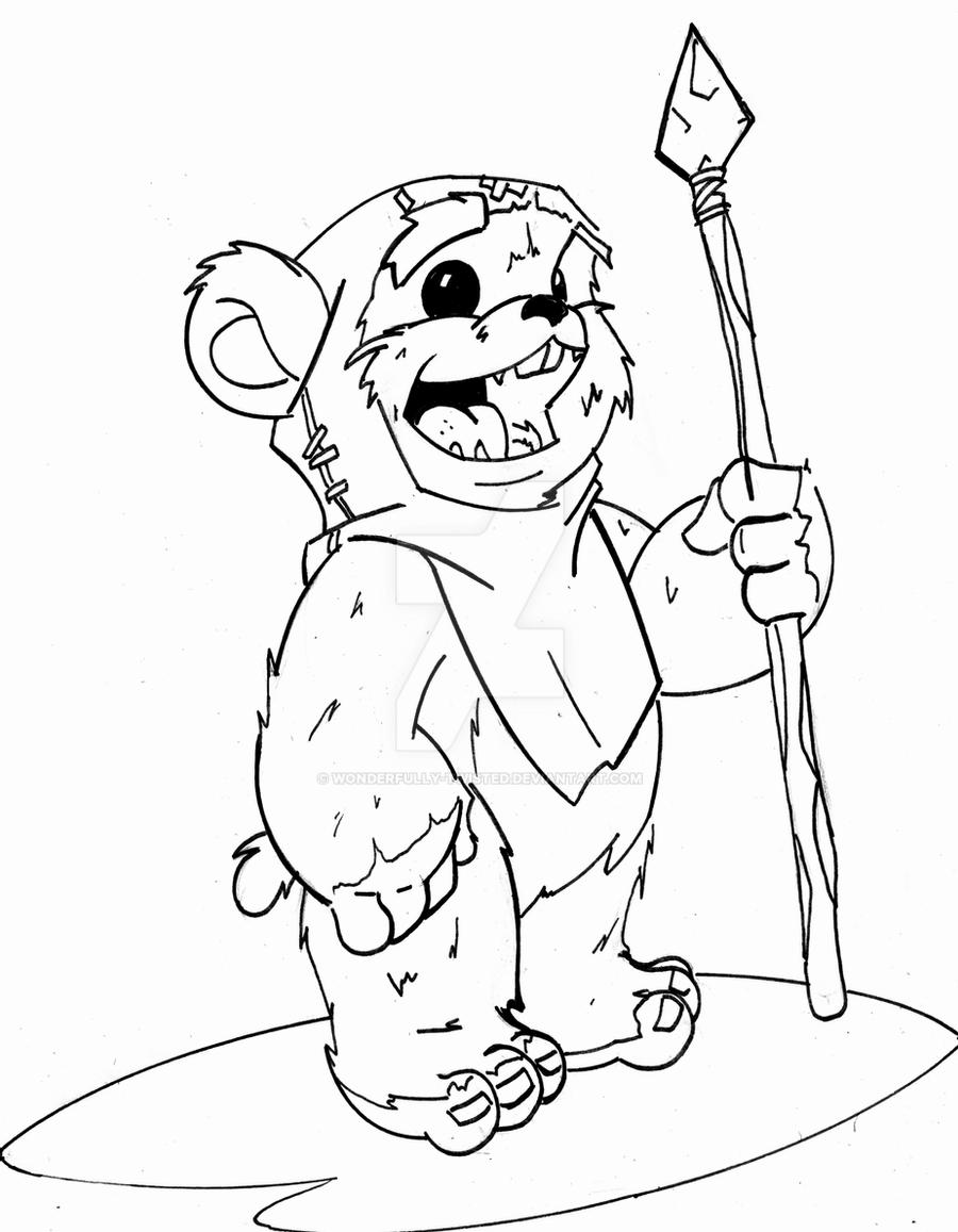ewok coloring pages 20 ewok coloring pages printable coloring pages coloring pages ewok