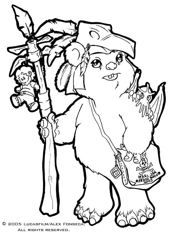 ewok coloring pages ewok coloring pages coloring home pages coloring ewok