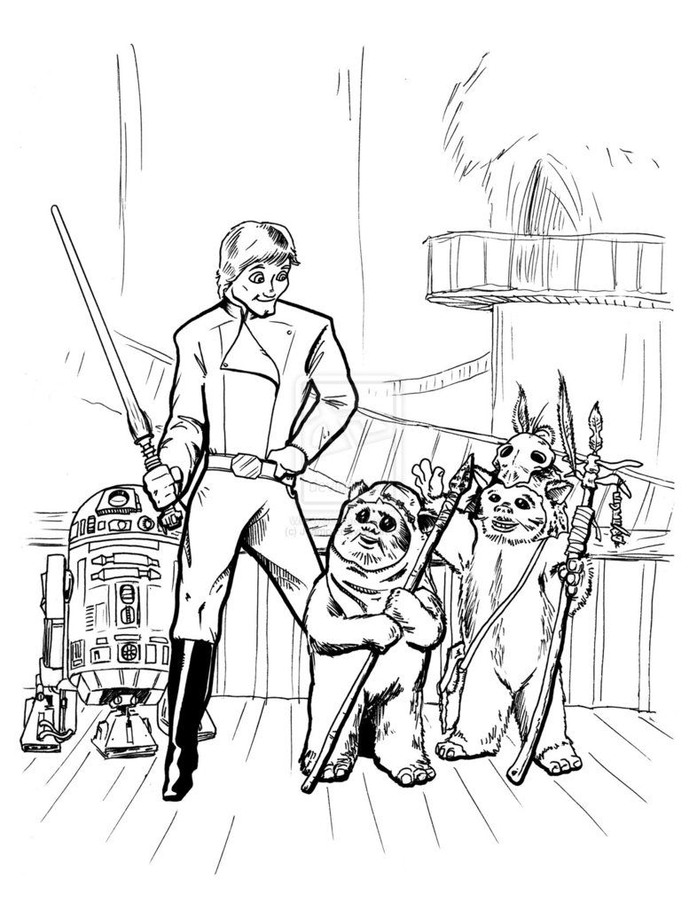 ewok coloring pages ewok coloring pages download print star wars coloring ewok pages coloring