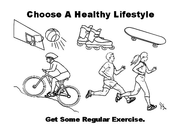 exercise coloring pages exercise coloring pages for preschoolers at getcolorings coloring pages exercise