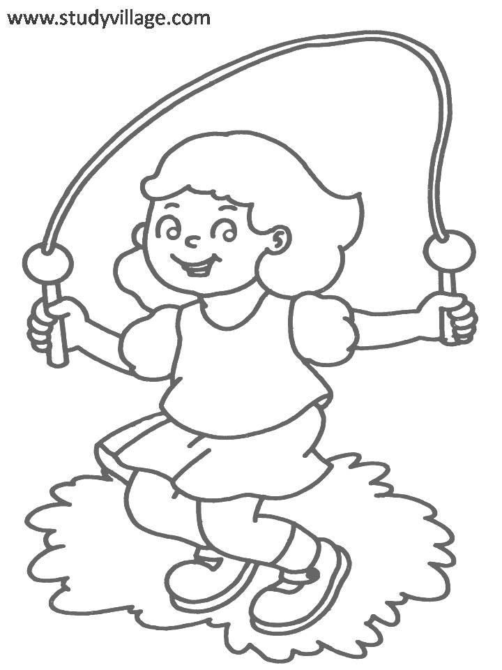 exercise coloring pages smiling boy begin to basketball exercise coloring pages exercise coloring pages
