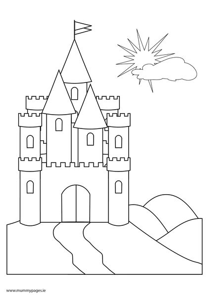 fairy castle coloring pages fairy tale castle drawing at getdrawings free download castle coloring pages fairy