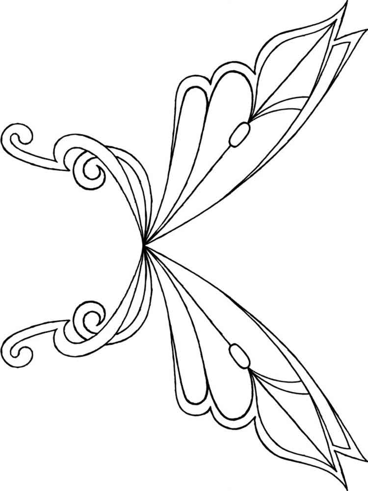 fairy wings coloring fairy wings coloring pages free printable fairy wings fairy wings coloring 1 2