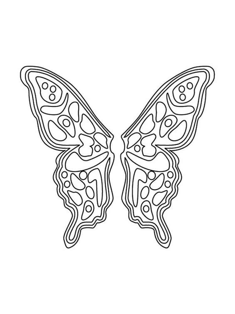 fairy wings coloring fairy wings coloring pages free printable fairy wings wings fairy coloring