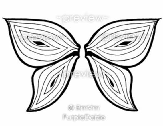 fairy wings coloring fairy wings outline clipart panda free clipart images wings fairy coloring