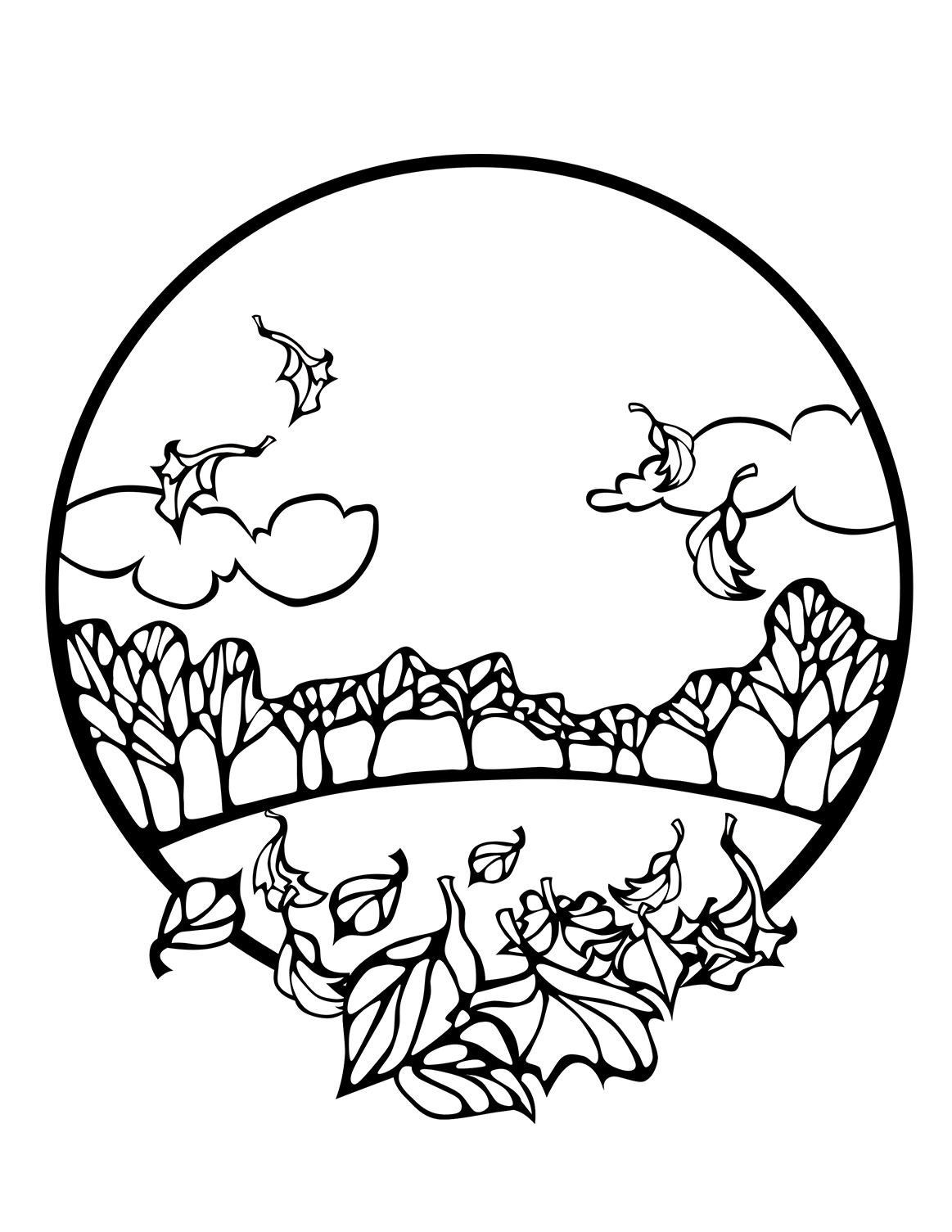 fall color sheet fall coloring pages to download and print for free sheet color fall