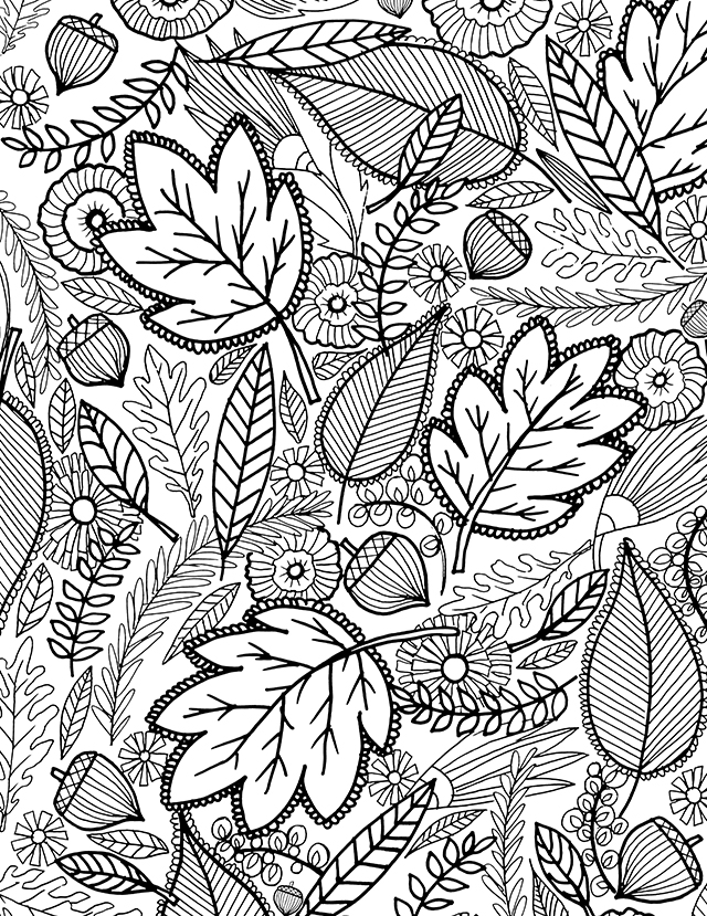 fall color sheet free printable fall coloring pages for kids best color fall sheet 1 1