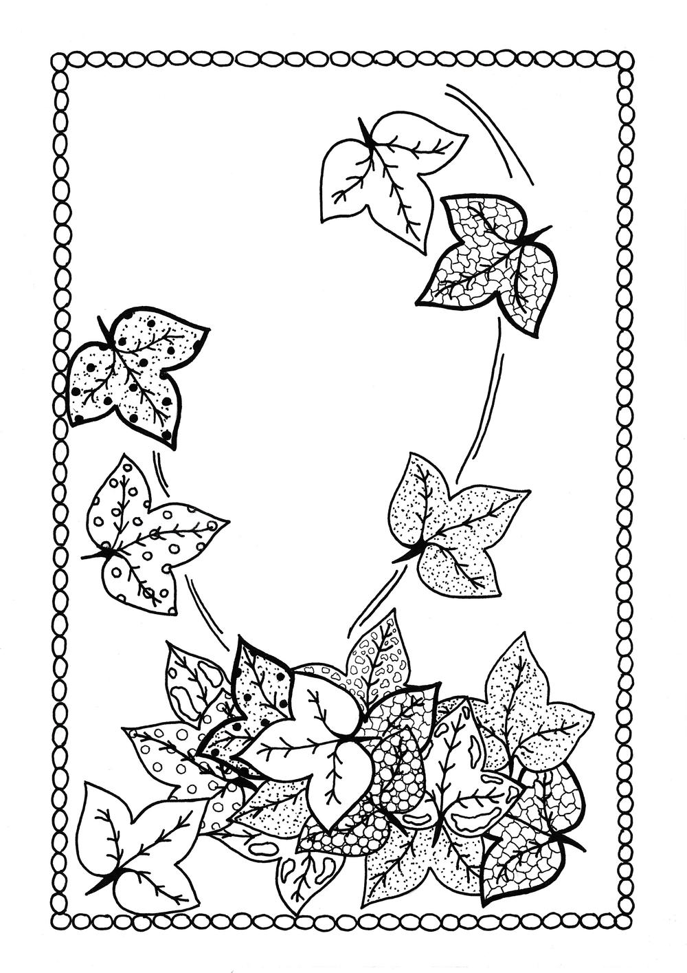 fall color sheet free printable fall coloring pages for kids best sheet fall color 1 1