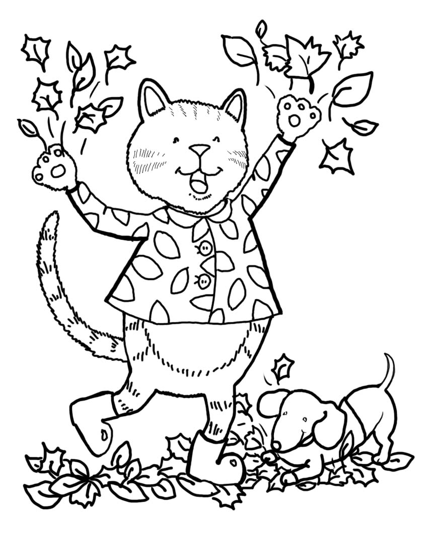 fall coloring sheets free fall coloring pages for preschoolers free at getcolorings fall sheets free coloring