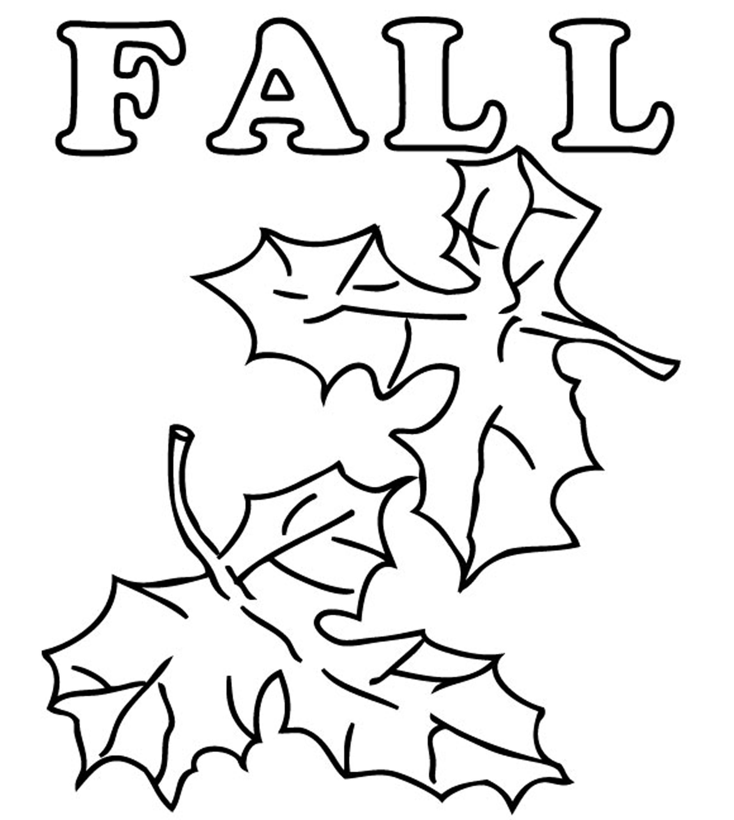 fall leaves coloring sheets fall leaves coloring pages getcoloringpagescom sheets leaves coloring fall