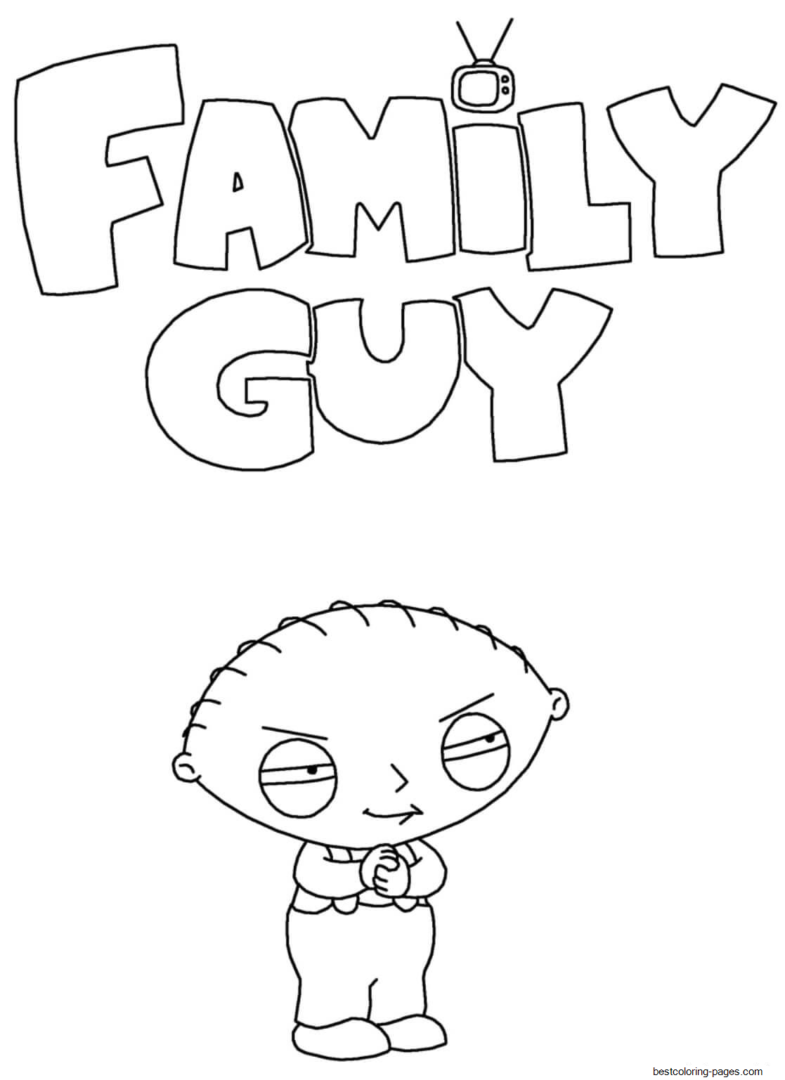 family guy coloring 34 family guy coloring pages mihrimahasya coloring kids family coloring guy