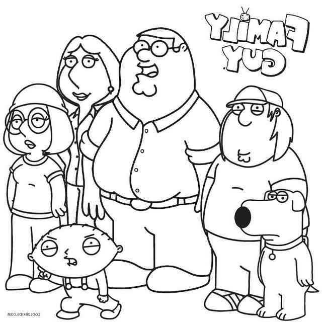 family guy coloring free printable family guy coloring pages for kids family guy coloring