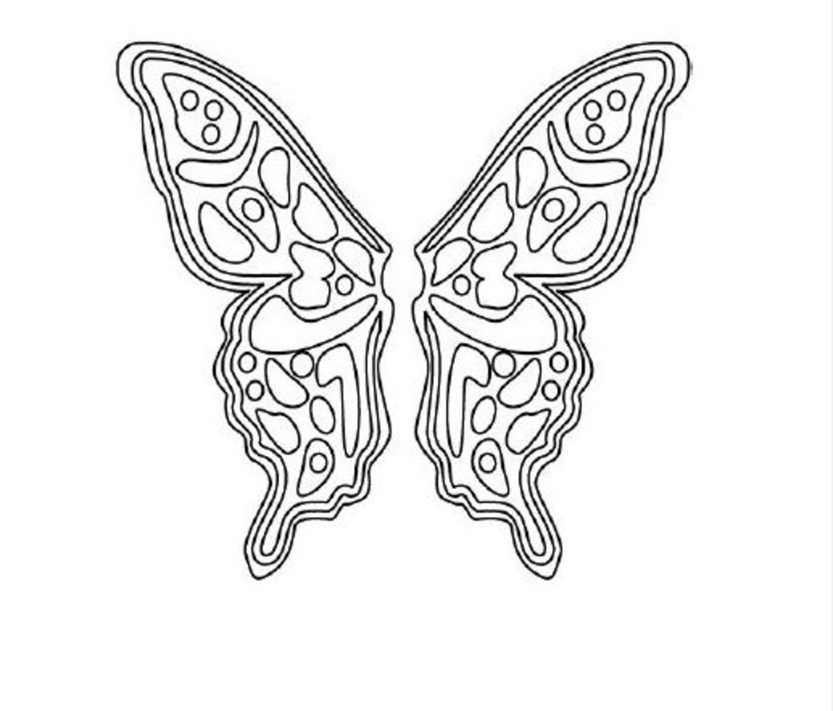 fancy butterfly coloring pages 66 best butterflies images on pinterest printable coloring butterfly pages fancy