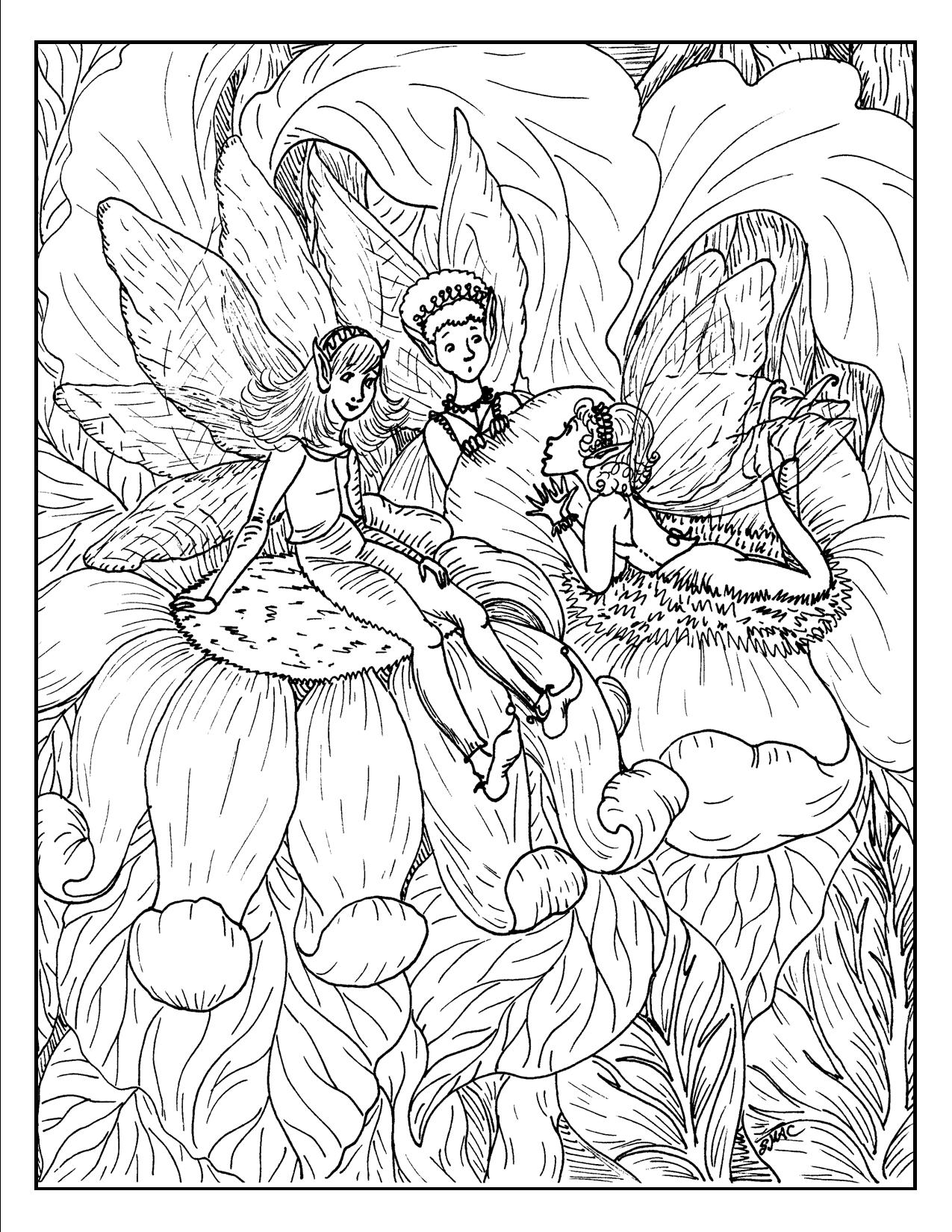 fantasy coloring pages advanced fantasy coloring pages at getdrawings free download fantasy pages coloring