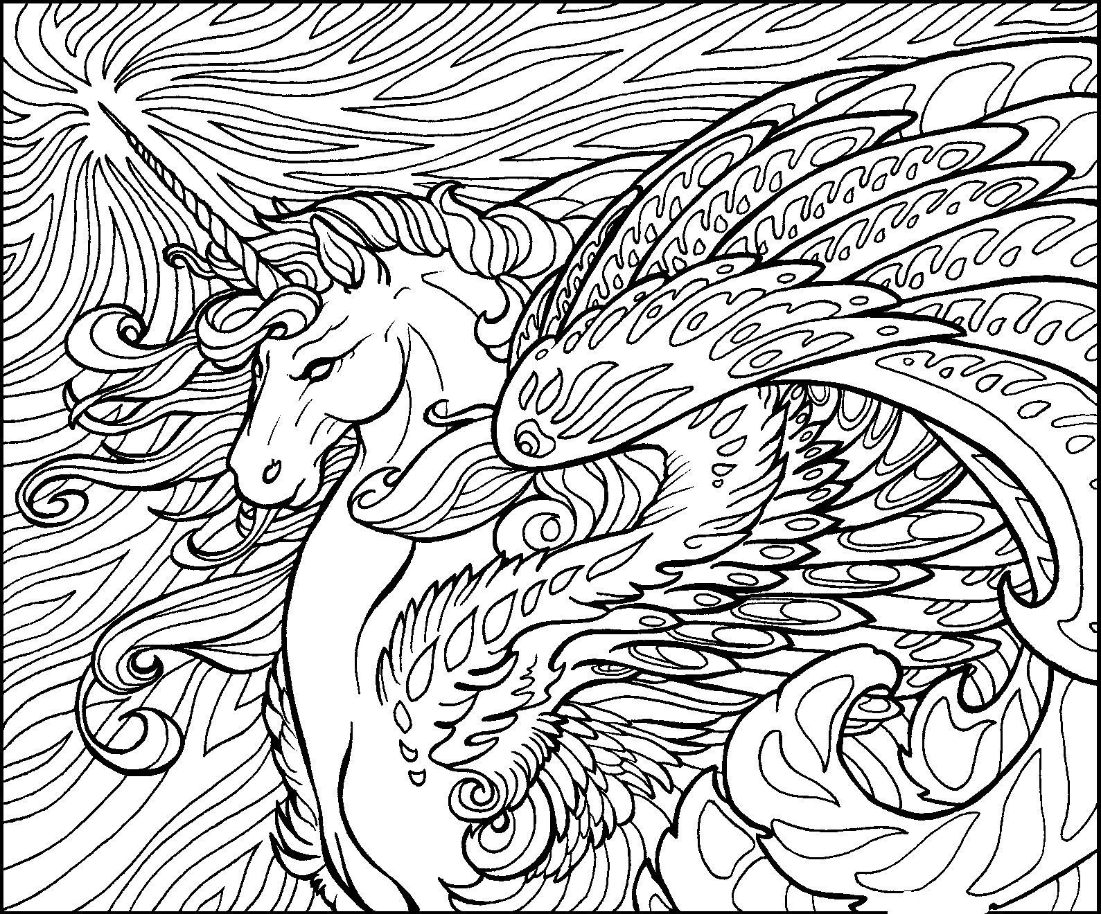 fantasy coloring pages fantasy animal coloring pages at getdrawings free download pages coloring fantasy 1 1
