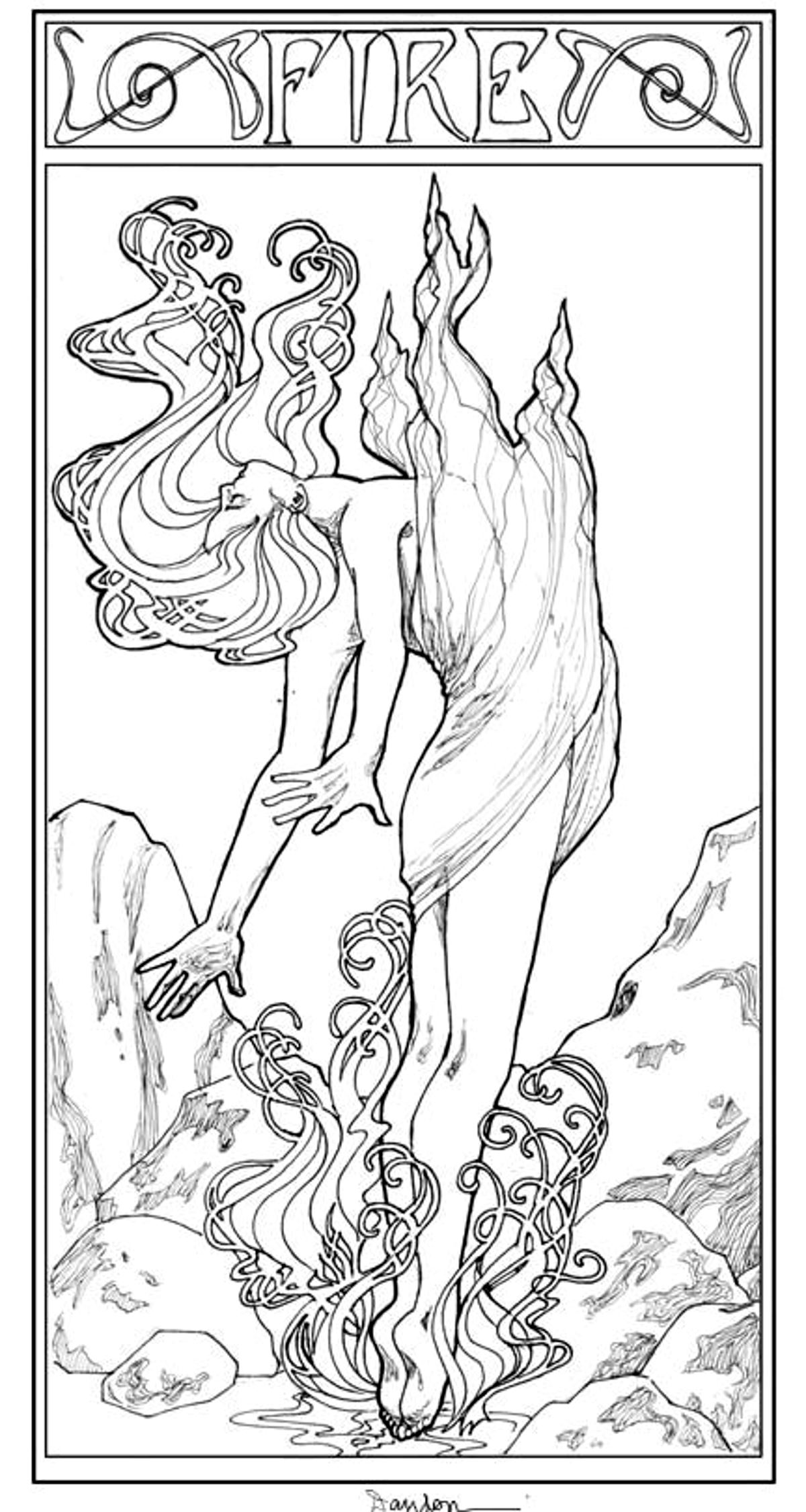 fantasy coloring pages fantasy art coloring pages at getdrawings free download pages coloring fantasy