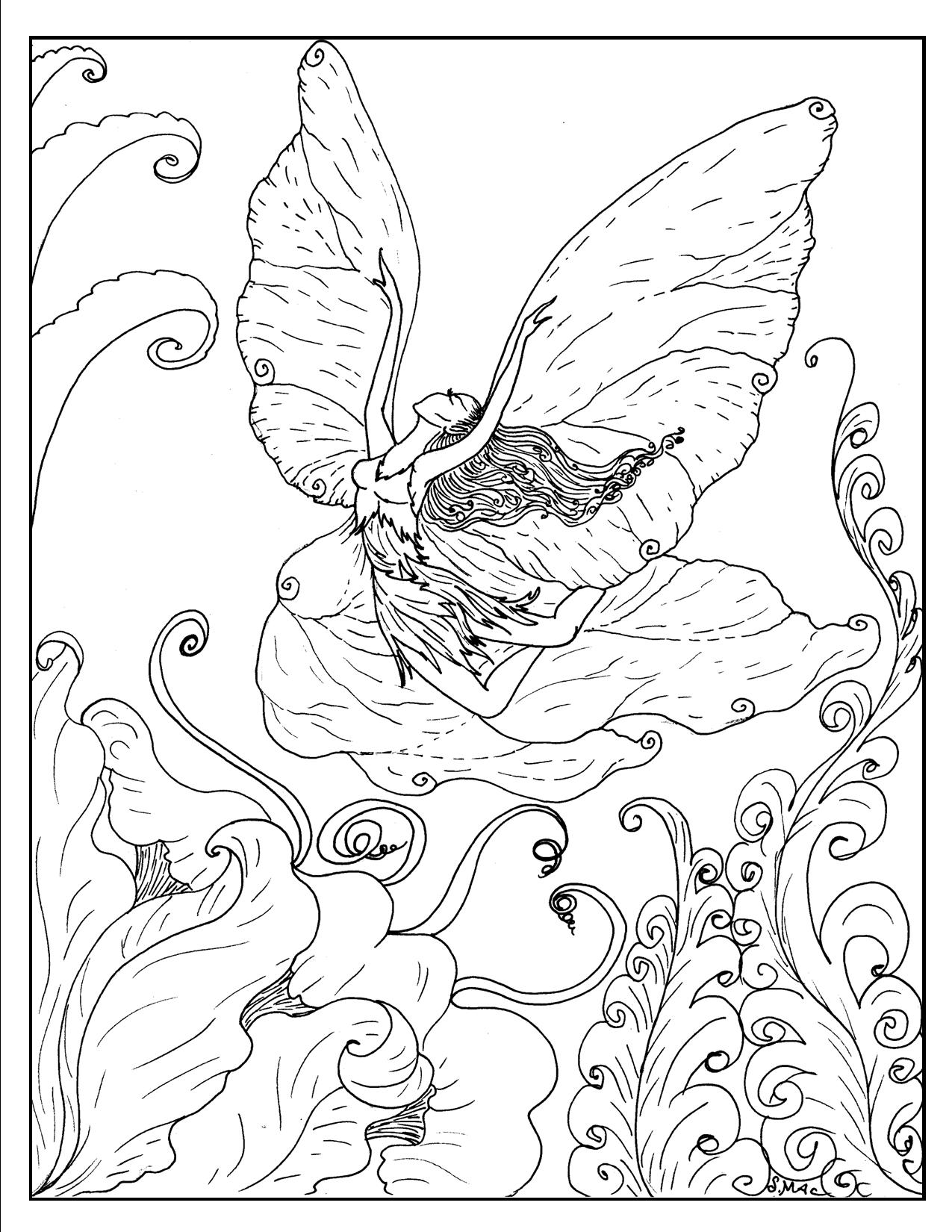 fantasy coloring pages fantasy coloring books adultcoloringbookz pages coloring fantasy