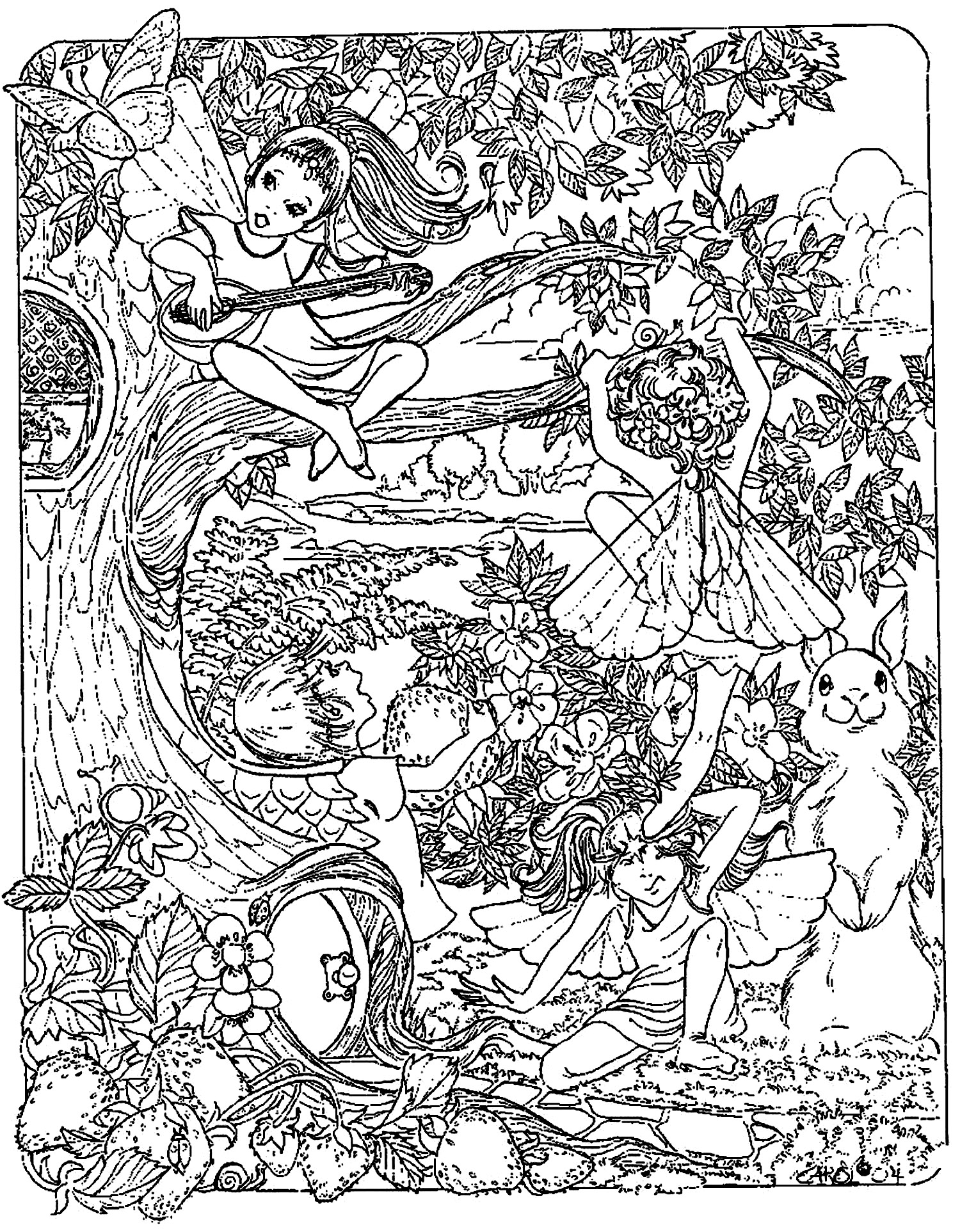 fantasy coloring pages the forbidden fantasy fairy world coloring page coloring sky fantasy coloring pages