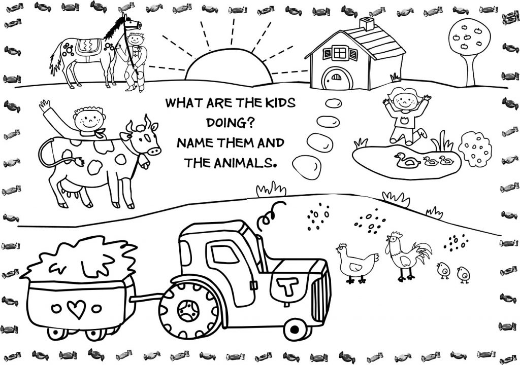 farm coloring book craftsactvities and worksheets for preschooltoddler and farm book coloring