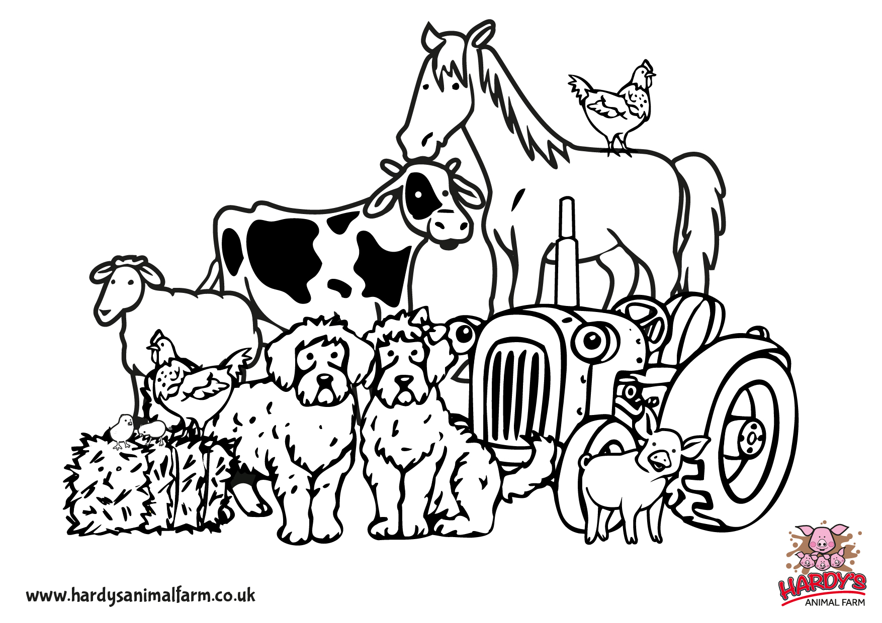 farm coloring book farm coloring pages scene k5 worksheets book coloring farm