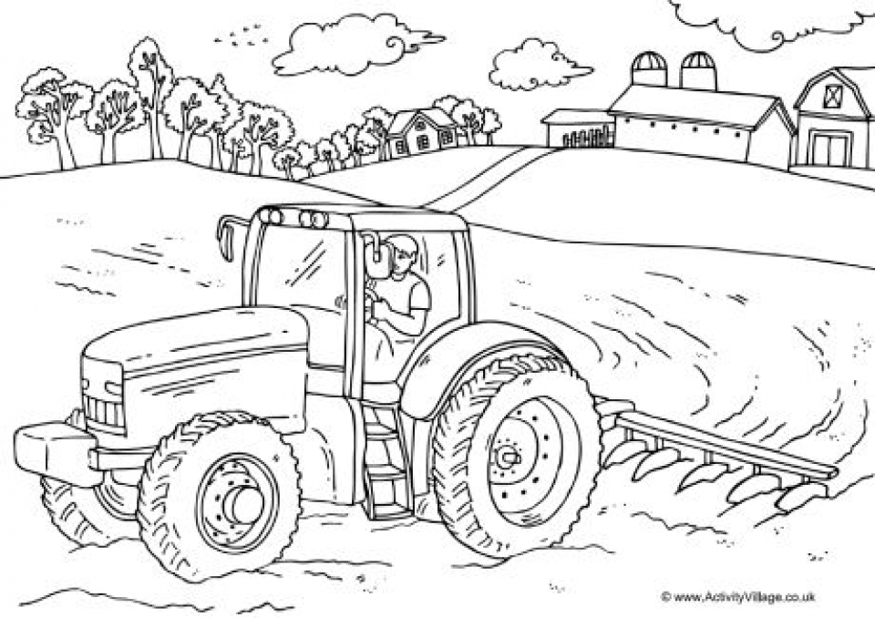 farm coloring book ukg coloring pages learny kids coloring farm book