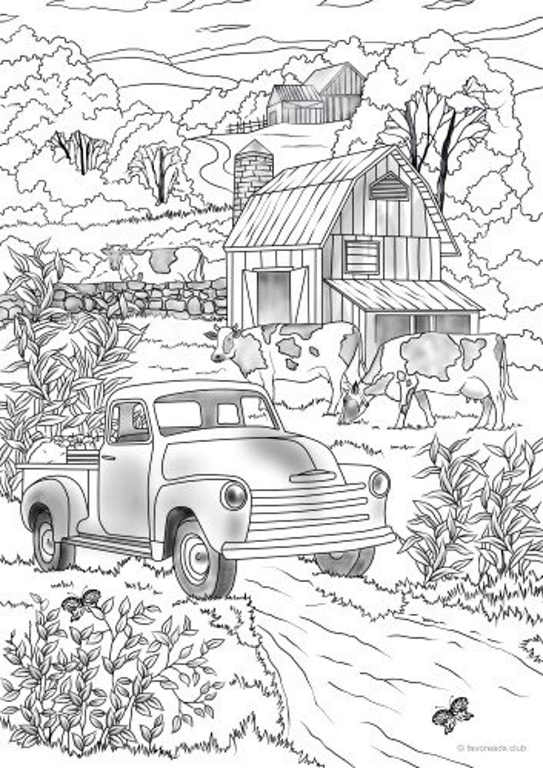 farm life coloring pages farm work and chores coloring page farm boy feeding a coloring farm pages life