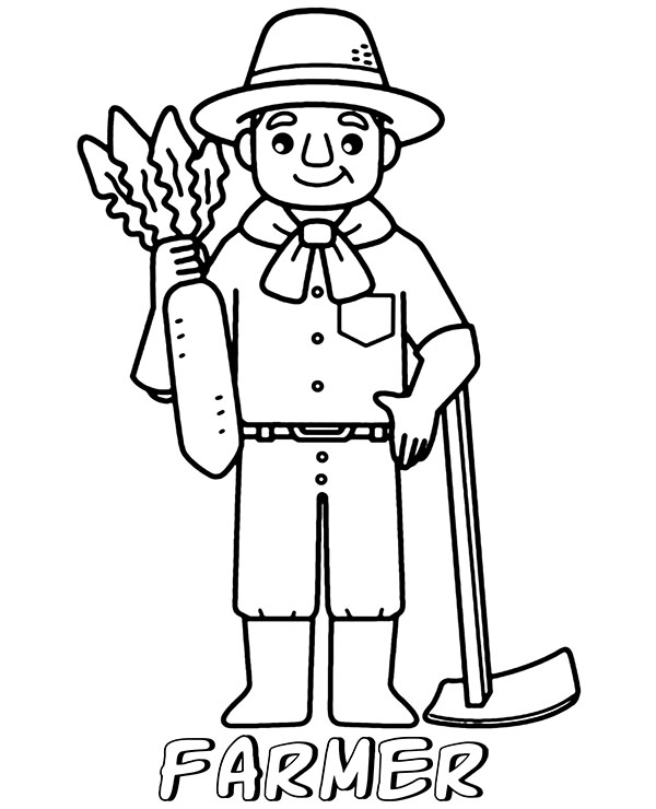 farmer coloring image 30 free farm coloring pages printable coloring farmer image