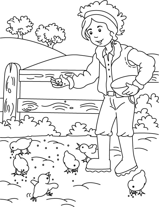 farmer coloring image earthy tractor coloring pages farm tractors free farmers coloring image farmer