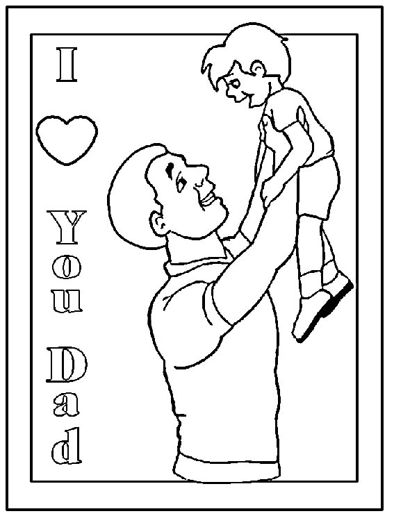 fathers day coloring sheets fathers day coloring pages allkidsnetworkcom day sheets coloring fathers