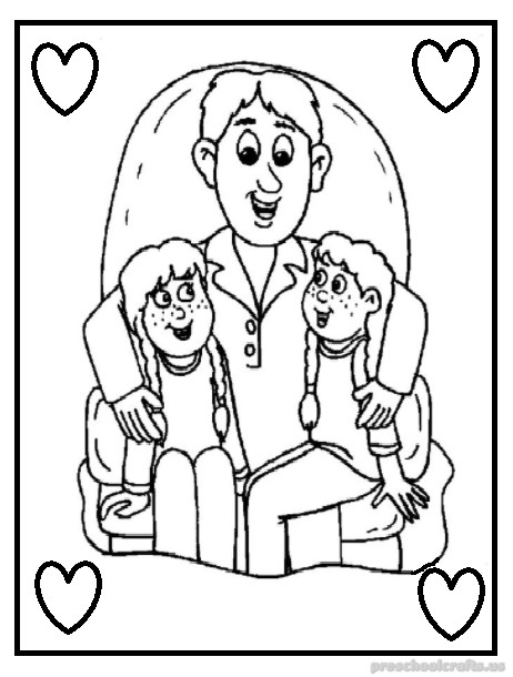 fathers day coloring sheets fathers day coloring pages for preschoolers preschool crafts day coloring fathers sheets