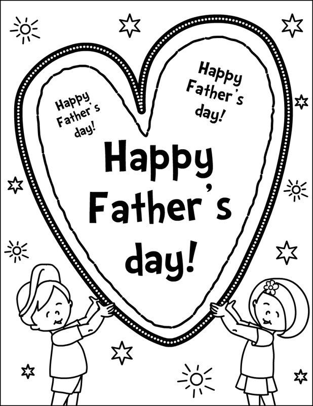 fathers day coloring sheets fathers day coloring pages the sun flower pages sheets day fathers coloring
