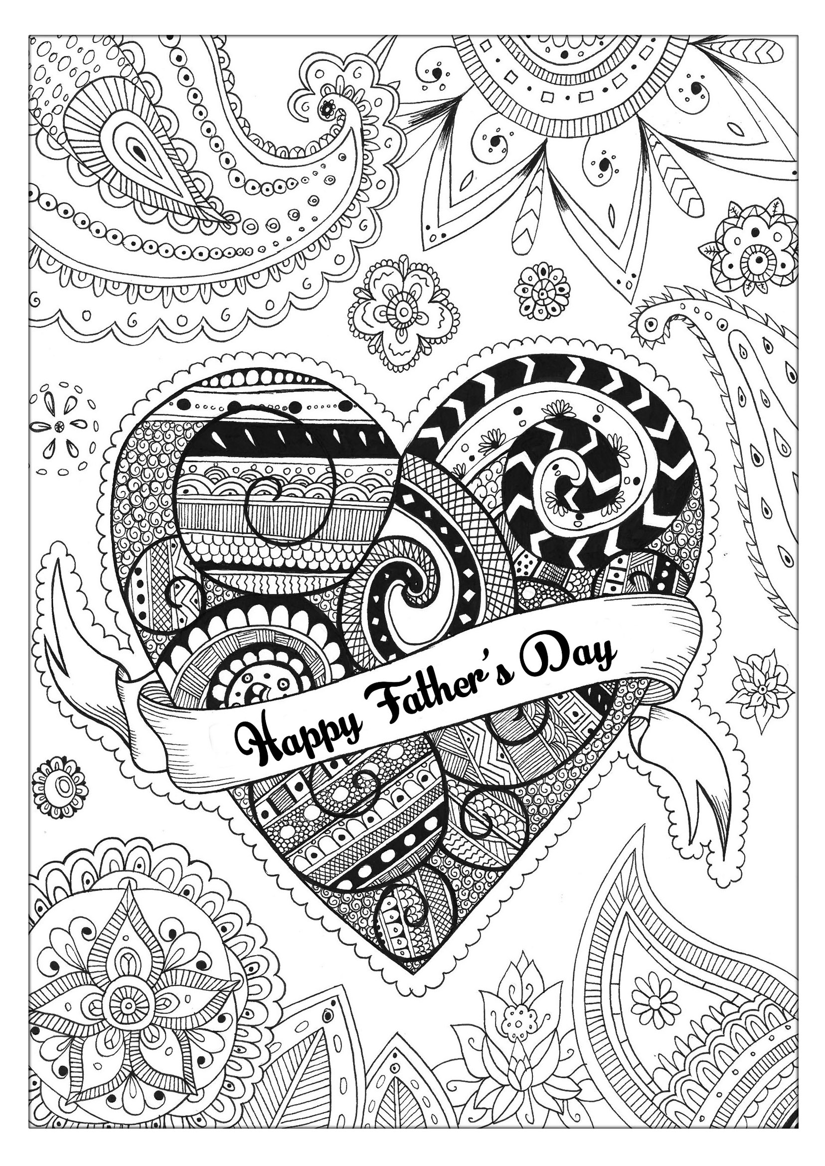 fathers day coloring sheets free printable father39s day coloring 1 creative center fathers day coloring sheets