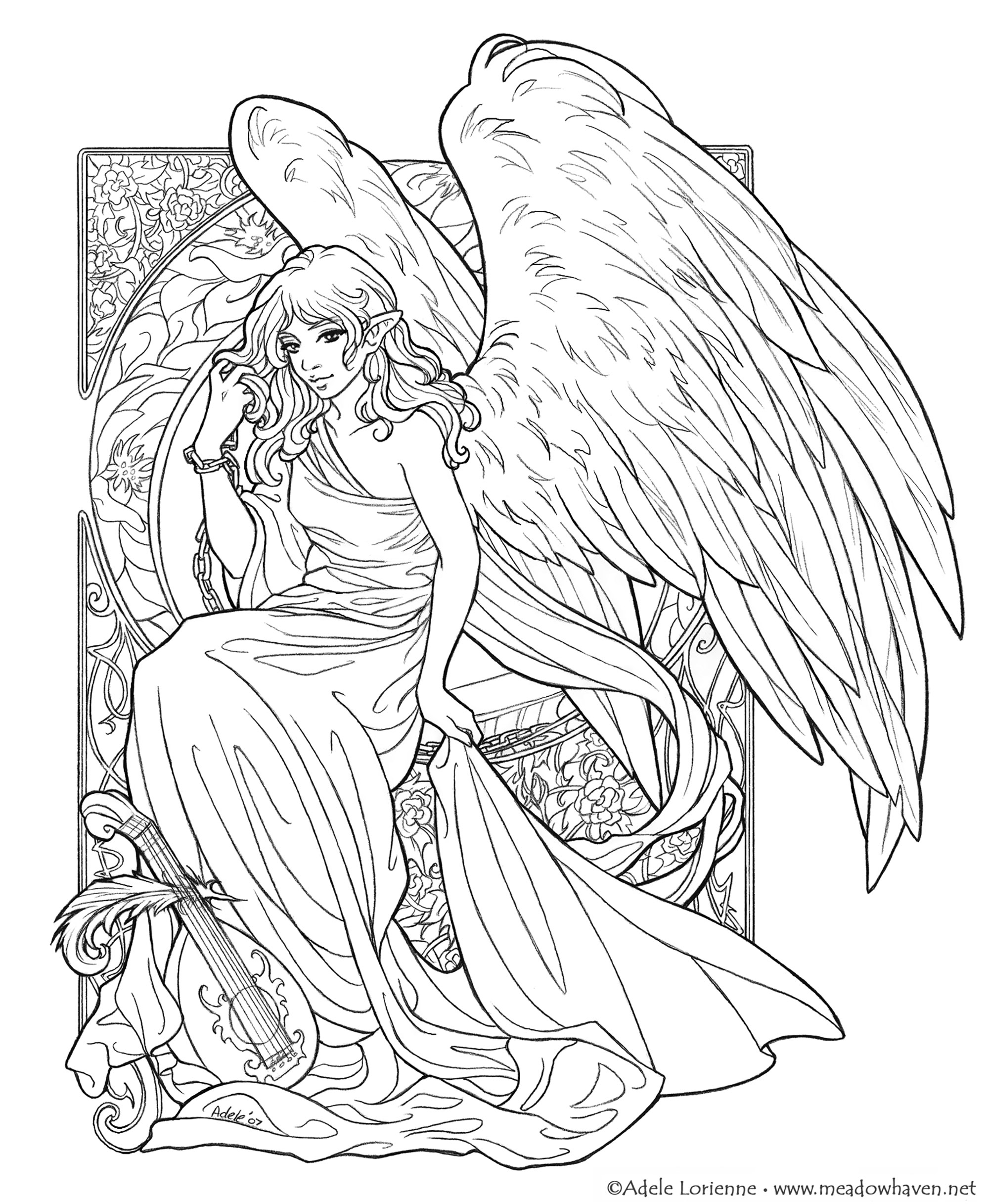 female dd coloring pages free printable elf coloring pages for kids cool2bkids female coloring dd pages