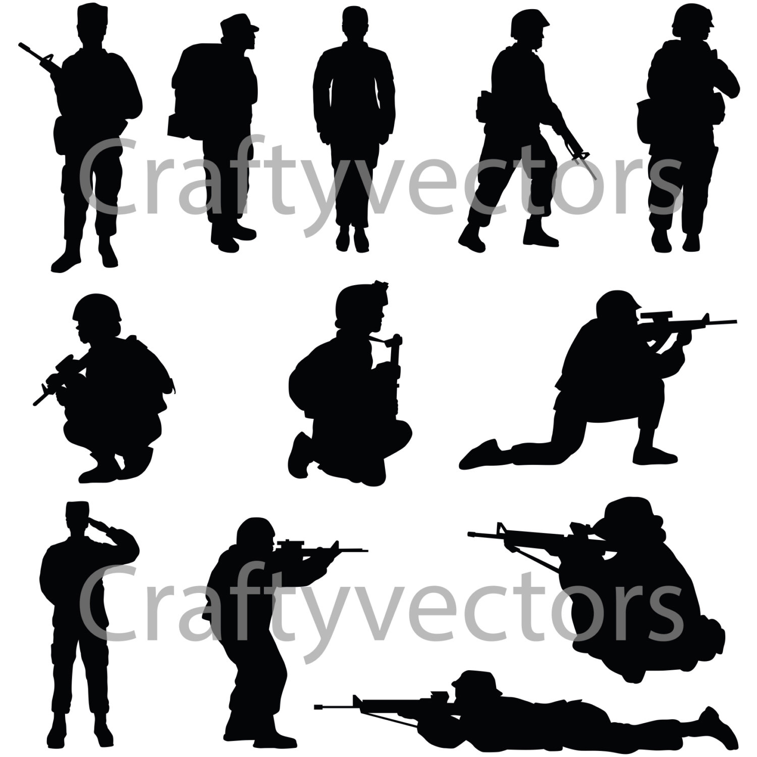 female soldier silhouette download soldier svg for free designlooter 2020 silhouette female soldier