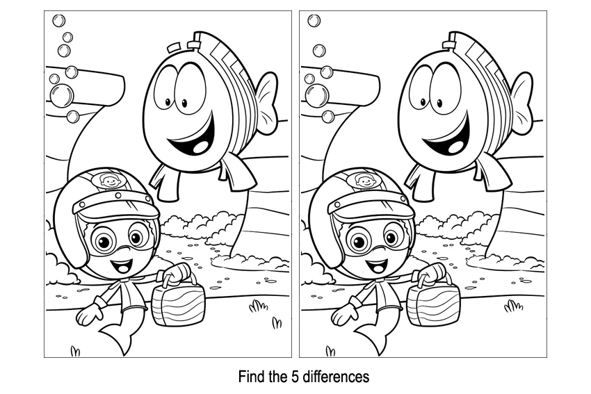 find the difference puzzles printable 9 best images of halloween spot the difference printable difference the printable find puzzles