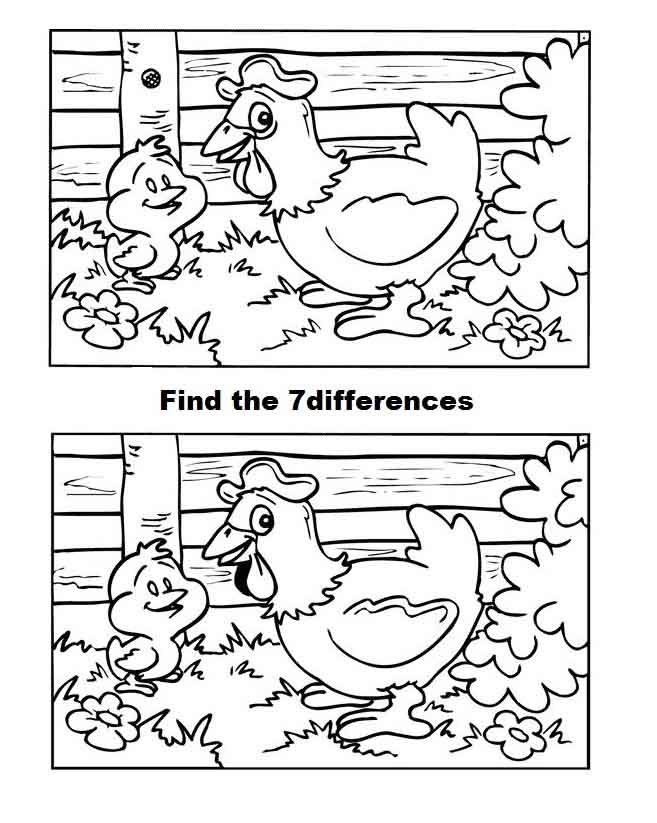 find the difference puzzles printable find the differences hidden pictures picture puzzles puzzles the difference printable find