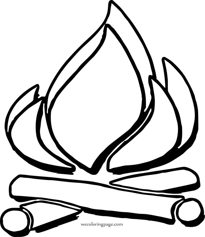 fire coloring pages campfire coloring pages fire coloring pages