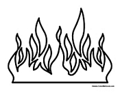 fire coloring pages fire coloring pages fire coloring pages