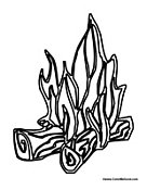 fire coloring pages fire coloring pages fire pages coloring