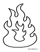 fire coloring pages fire coloring pages pages fire coloring