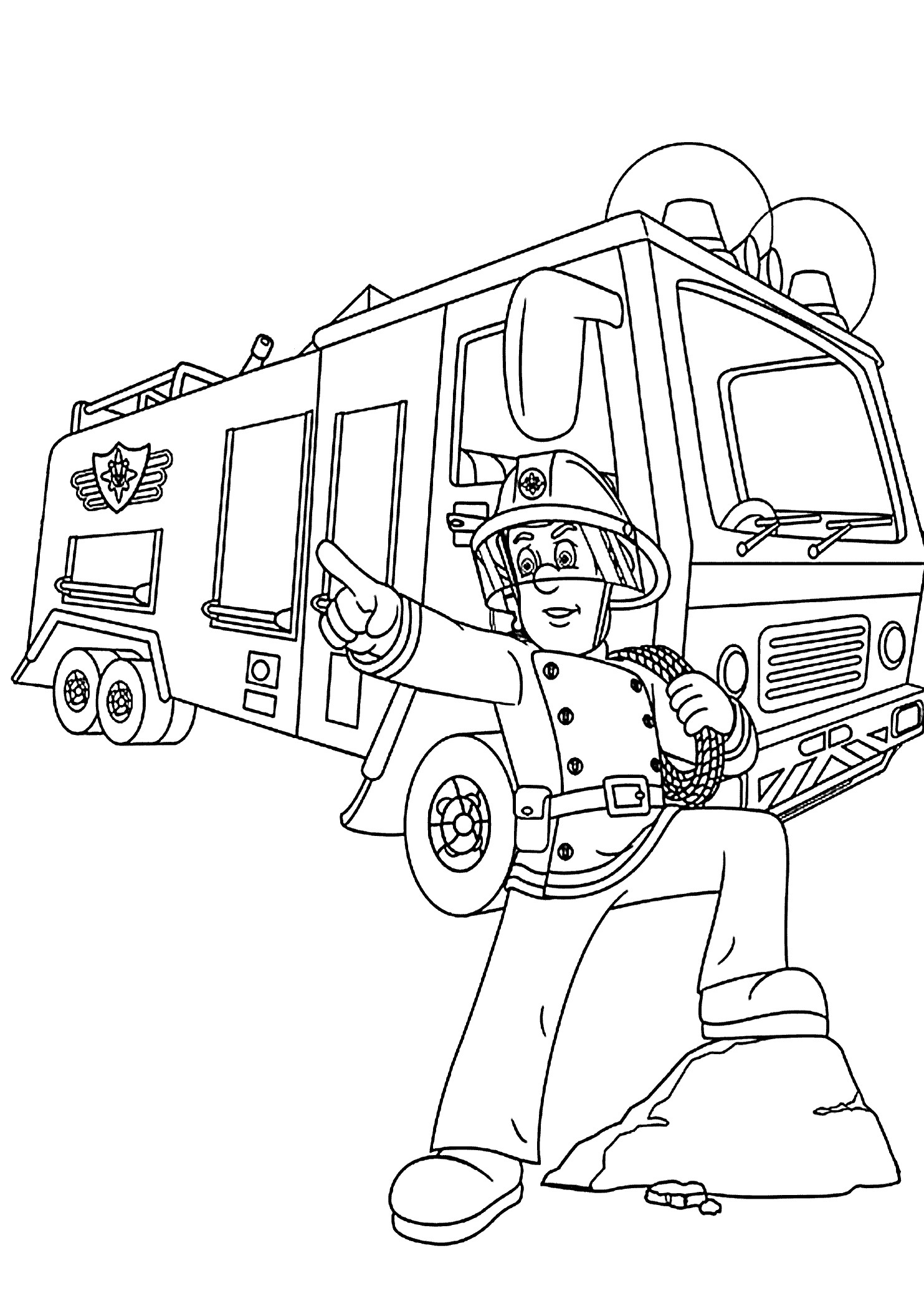 fire truck coloring sheets free fire truck coloring pages coloring home fire truck coloring sheets