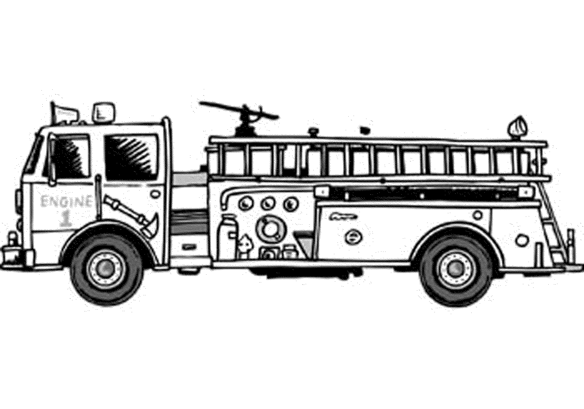 fire truck coloring sheets very old fire engine coloring page for kids fire truck sheets coloring