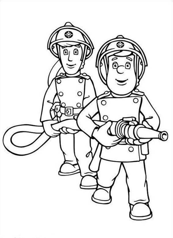 fireman coloring pages firefighter coloring pages free printable firefighter pages fireman coloring